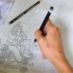 seragam batik design sendiri